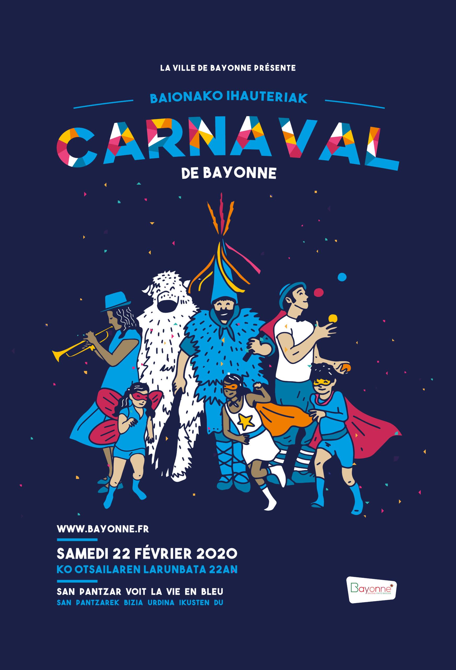 Carnaval de Bayonne affiche principale