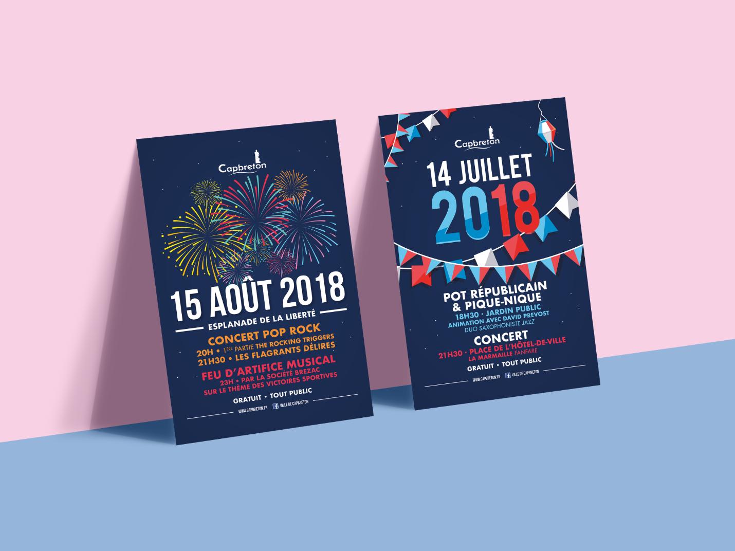 14 juillet 15 aout 2018 Capbreton